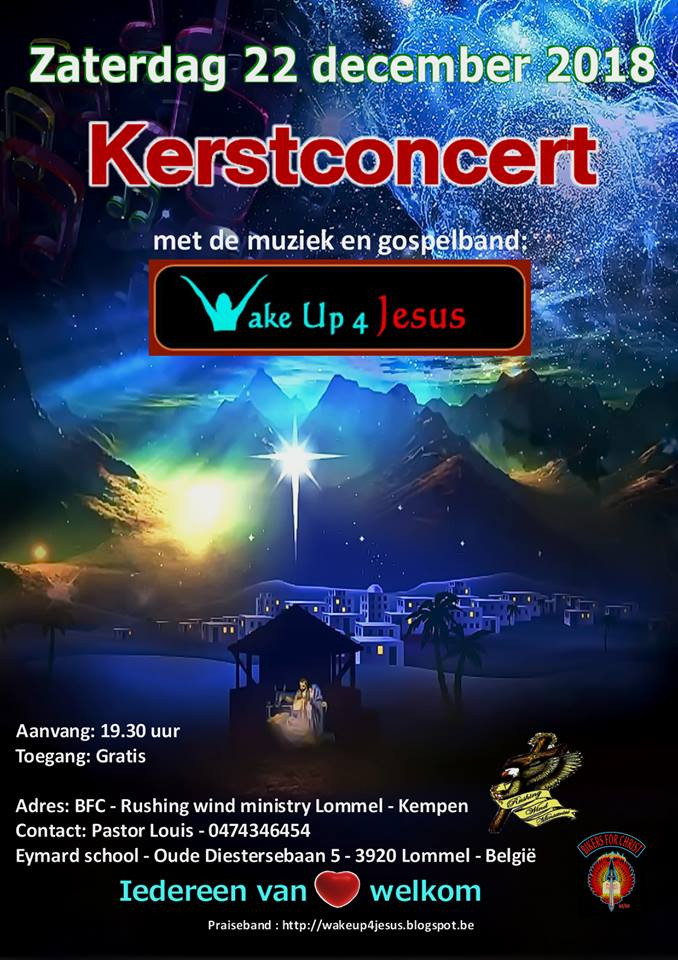 22 12 2018 Kerstconcert wake Up 4 Jesus